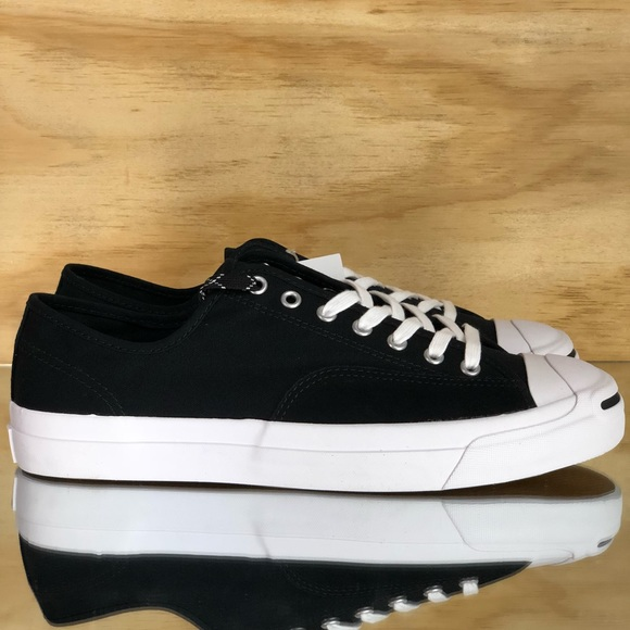 df8052359acc Converse Jack Purcell Pro Ox Black White Low Top